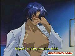 Masturbating, Hentai