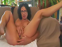 French anale, French amateur, Glasses masturbating, Anal milf, Milf anal, Anal toy