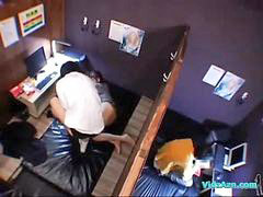 Asian, Asian guy, Guy and guy, Internet cafe, Asian blowjob, Blowjob asian