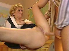Lehrer anal
