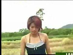Granja, Tailandesa, Tailandia, Tailandesas, Niñas