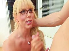 Milf, Huge tits, Karen, Blond milf, Karen fisher, Huge