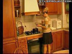 Madura follando con maduro, Follando maduras, Follando con una madura, Follando cocina, Cocinas, Mujer