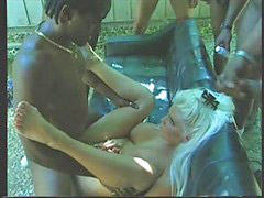 Sucking black, Suck black, Sucking blonde, Five v, Blonds black, Blonde black