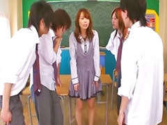 Handjob asian, Japanese fetish, Asian teacher, Asian handjob, Teacher gangbanged, Hairy brunette