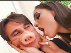 نجوم الجنس, لحس المهبل, العادة السرية عند الرجال, استمناء رجال, الفم العميق, يلحس لها شرجي