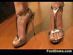 Femdom, Feet