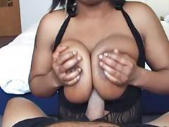 Busty ebony, Big cock blowjob, Ebony black, Amateur pov, Pov oral, Black pov