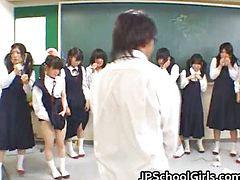 سال که س, کلاس, دختر دبیرستانی, دانشجو, دانش آموزان, آسیایی