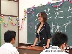 Konulu öğretmen, Öğrenci, Öğrenciler, Örenci, Tükürmek, Japonca