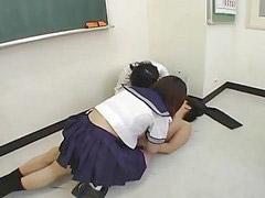 여학교, 일본여자아이일본여자, 페이스시팅, 시팅, 학ㅋㅛ, 하교ㅐㅇ