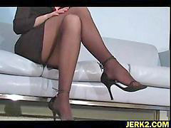 Faith, Office stockings, Stockings office, Leone, Leon faith, Leon