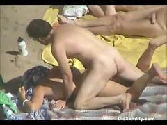 Publik a, Sexs publik, Orang sex, D depan umum, Pantai