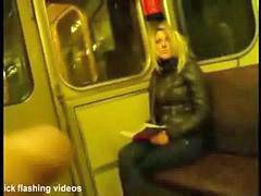 금발여자, 주인님, 튜브, 전철, 기차, 양성에