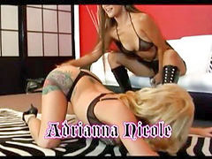 Lesbian play 5, Lesbians strap-on, Lesbian strap, Two straps, Playing lesbian, Play,on