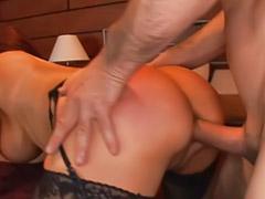 Ass lick, Ass licking, Stockings anal, Asian swallowing, Rough blowjob, Licking men ass