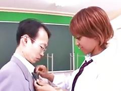 학생커플, 아시아 학생, 일본교사, 일본 흑인, 교생선생님, 교생따먹기