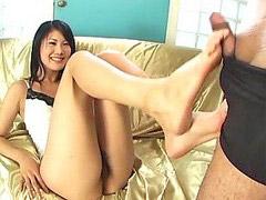 Footj, Footjobs, Uncensured, Asian foot, Uncensuré, Uncensure