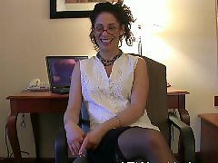 Milf gives, Interviewed, Hairy, milf, Hairy milfs, Hairy anál, Milf interview