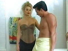Vintage, Stockings anal, Big anal threesome, Vintage big tits, 7 age, Stocking cum