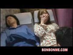 Mother, Bus, Sleeping, Sleep, Daughter