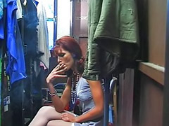Double penetration, German, Double anal, Stockings anal, German anal, Threesome anal