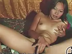 Masturbating solo, Pilipina solo, Hairy masturbating solo