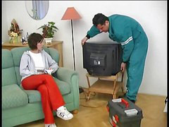 Repair man, Repairman, Sex man and man sex, Man fucks teen, Tv쇼, Teens sexy