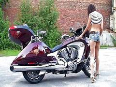 สาวเงี่ยน, เงี่ยนๆน้าเงี่ยน, น้ำเงี่ยนสาว, จักรยาน