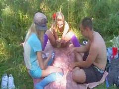 Poker, Poker orgy, Woods, Pok, Wood