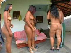 ناعم, جسم جسم, نعومة, برازيلية ميلف, جسم, برازيل