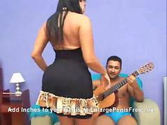 Latinas, Soraya, Un culo grande, U culo grande, Soraya brasileña, Latina culo anal