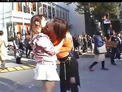 Japanese lesbian, Japanese, Asian lesbian, Lesbian asian, Japanese kissing, Kissing lesbian